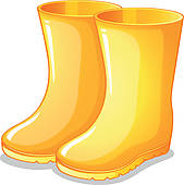 Wellies Clipart.