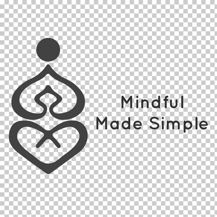 Health, Fitness and Wellness Logo, mindful PNG clipart.