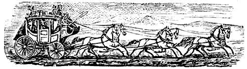 The Wells Fargo Stagecoach.