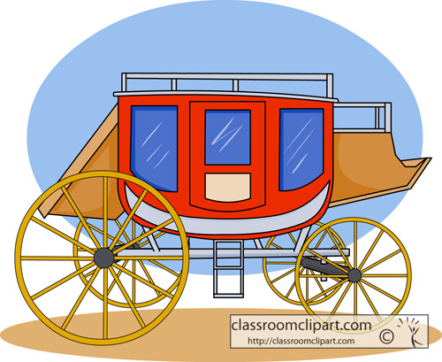 Clipart Stagecoach.