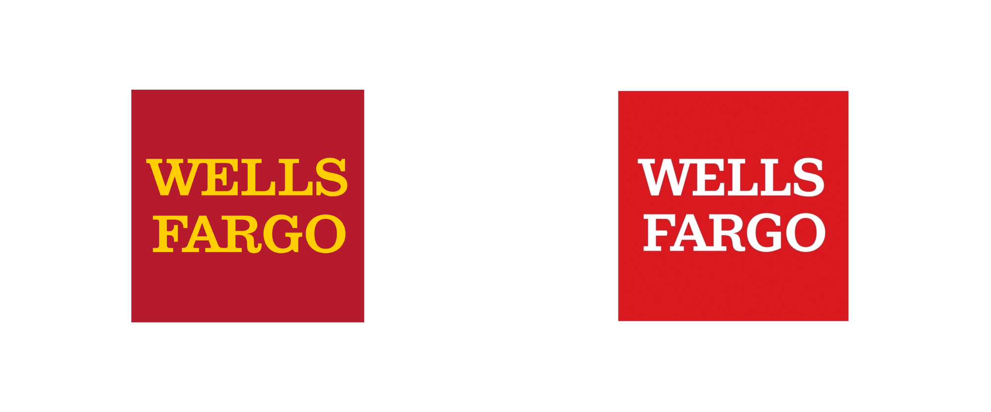 Brand New: New Logo and Stagecoach for Wells Fargo.