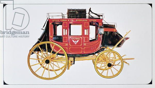 Concord Stagecoach used by Wells Fargo & Co. made in Concord.