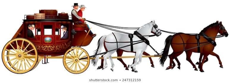 Wells fargo stagecoach clipart 3 » Clipart Portal.