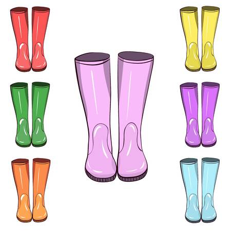 898 Wellington Boot Stock Vector Illustration And Royalty Free.