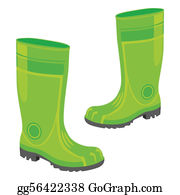 Wellies Clip Art.