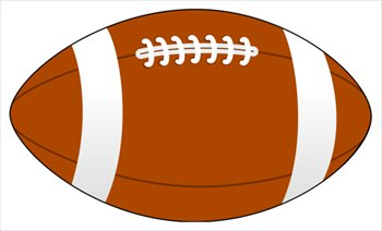 Rugby Ball Clipart.