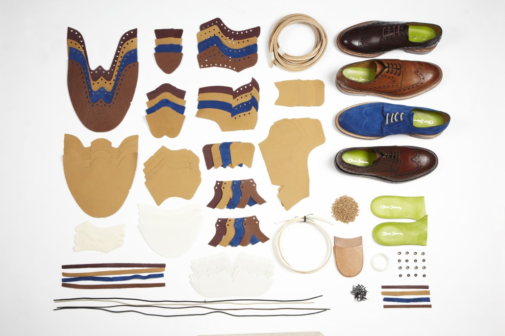 128 Components make Oliver Sweeney's Hasketon Brogue.