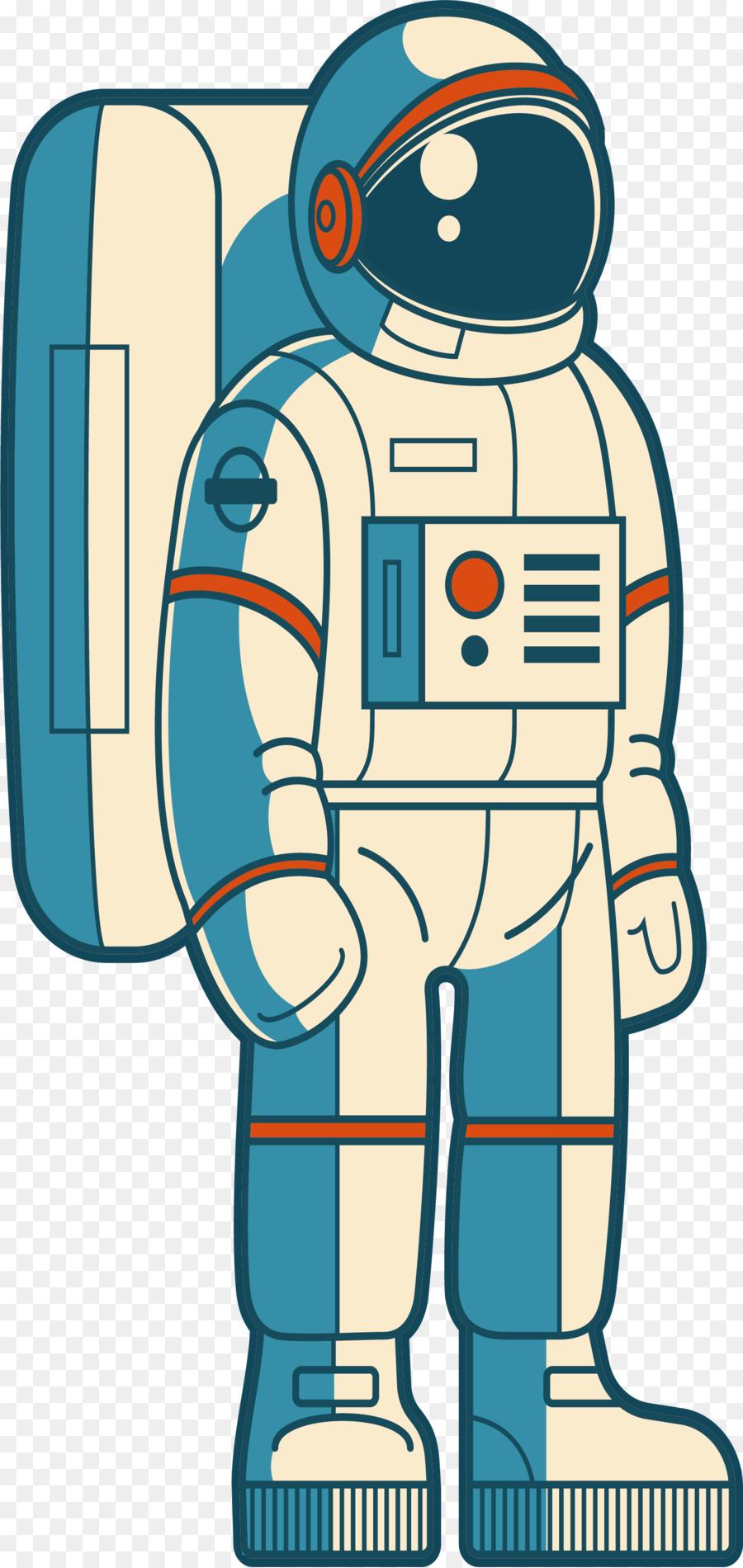 Astronaut Weltraum.