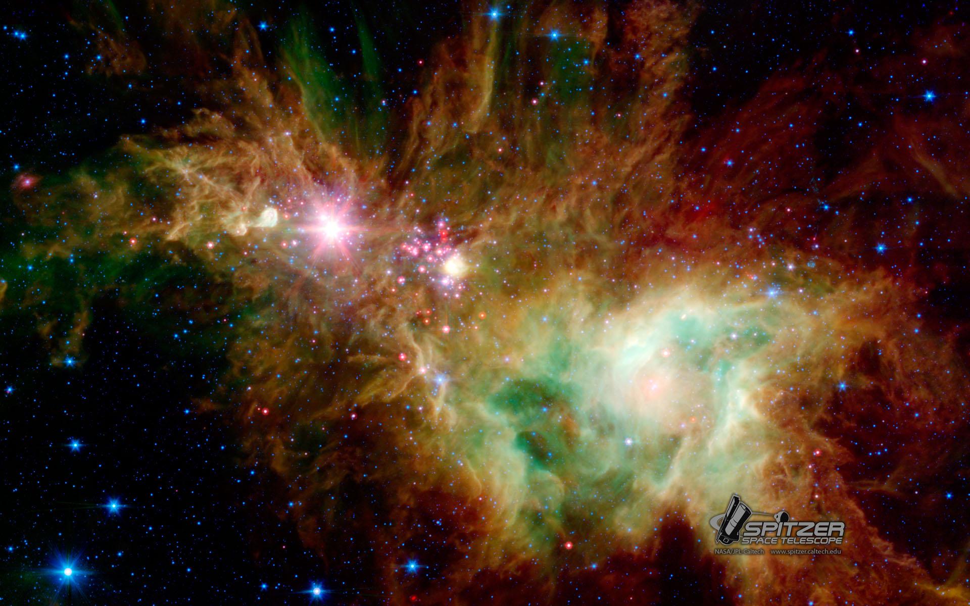 Stellar Snowflake Cluster.