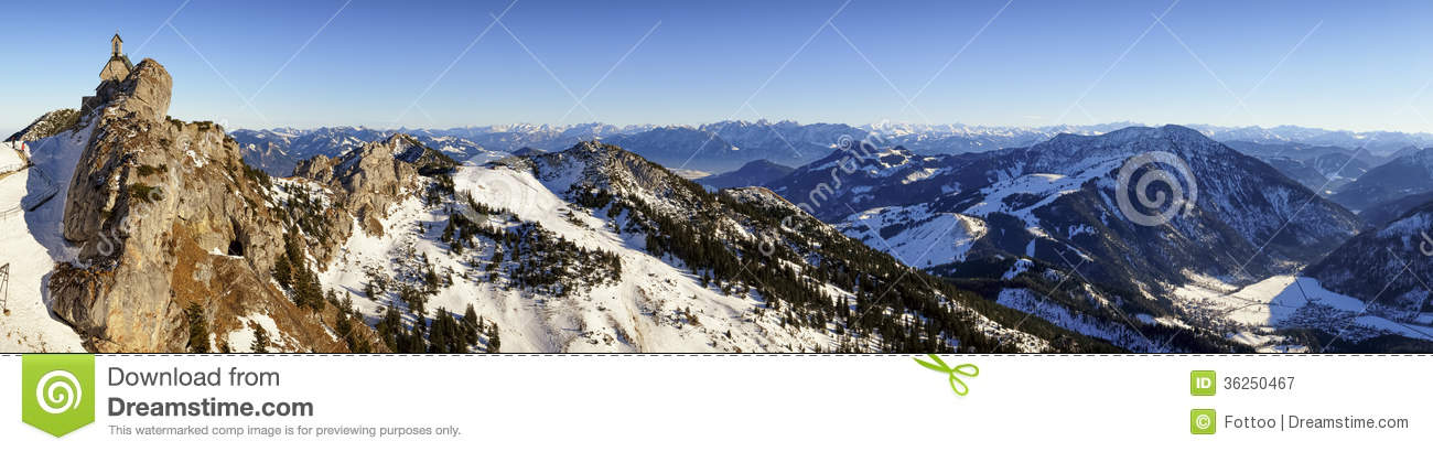 Wendelstein Royalty Free Stock Photography.