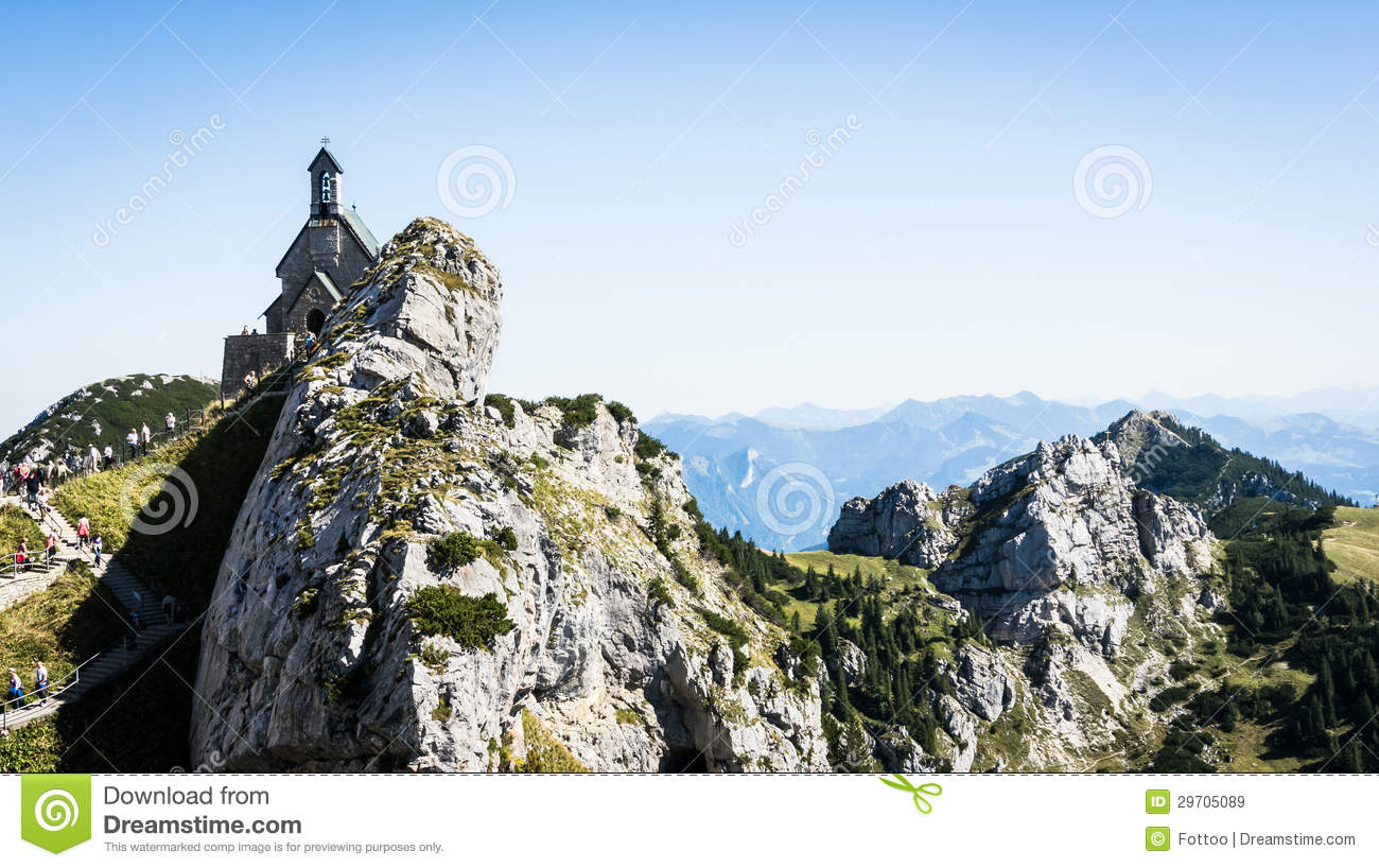 Wendelstein Royalty Free Stock Images.