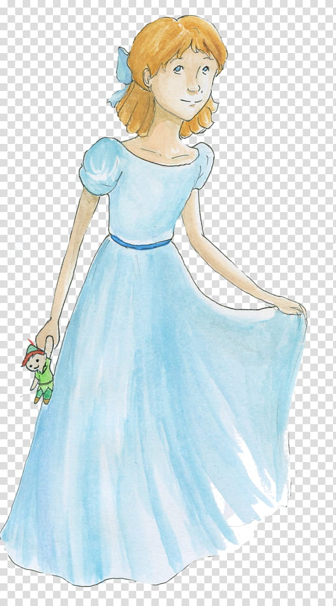 Wendy Darling transparent background PNG clipart.