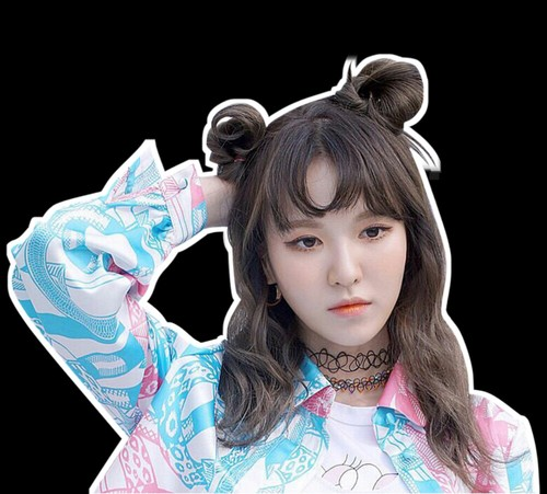 Wendy Red Velvet Png uploaded by Wengie on We Heart It.
