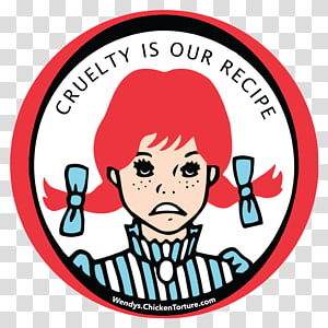 Wendys Company transparent background PNG cliparts free.