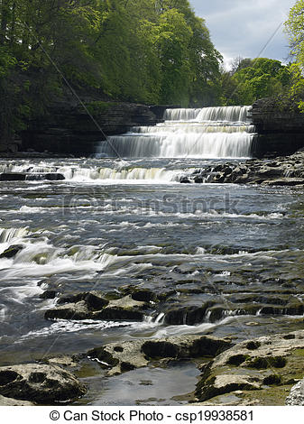 Pictures of Aysgarth Falls.