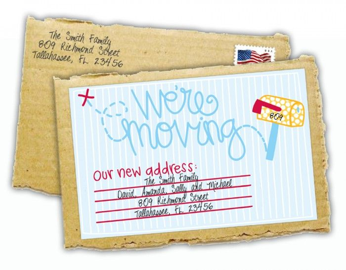 new address announcements free.