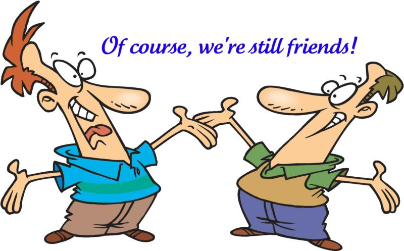 Showing post & media for Visiting with friends cartoon.
