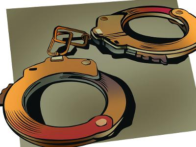 student's murder: Two held for student's murder.