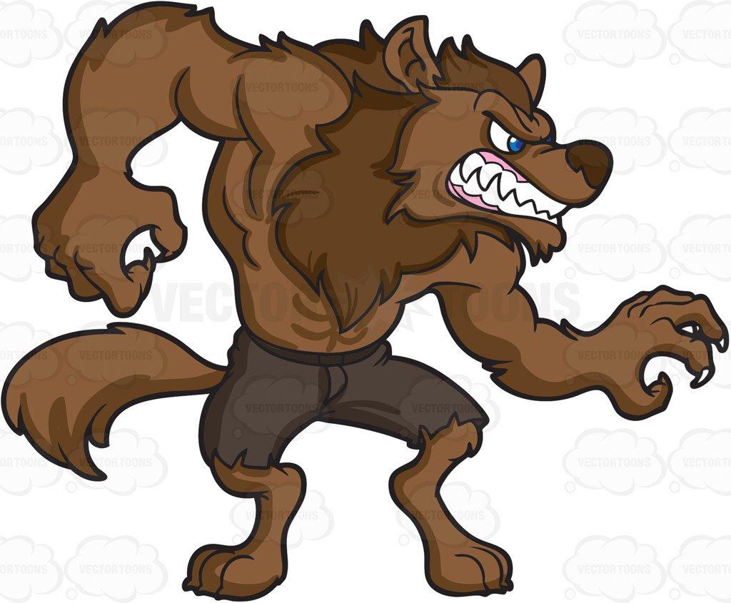 Werewolf clipart 3 » Clipart Station.