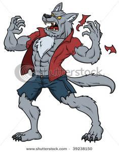 Man Transformed Into a Werewolf.