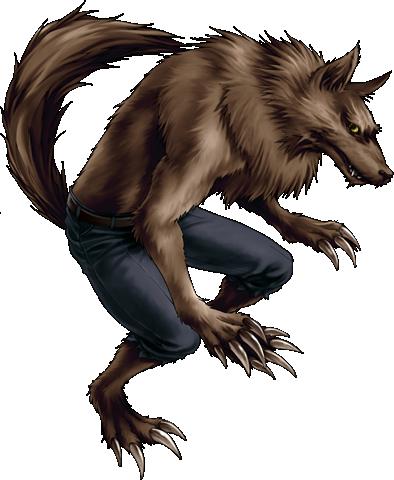 Werewolf Clipart.