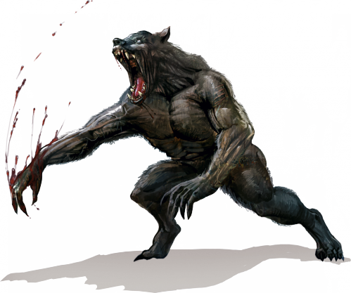 Werewolf PNG Images.