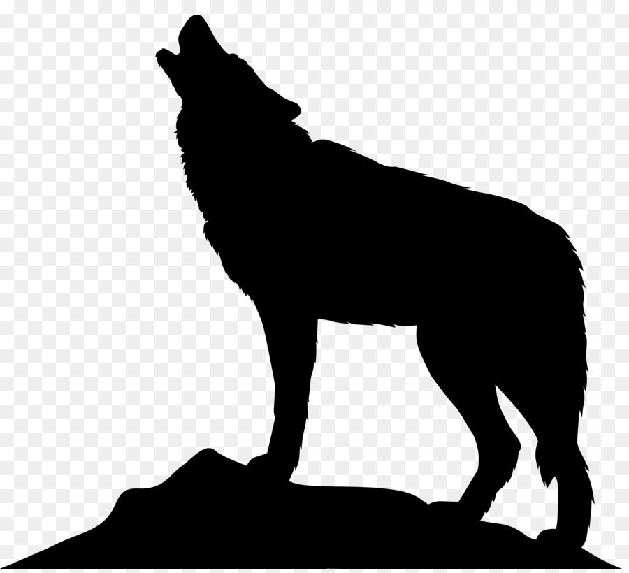 Wolf Cartoon clipart.