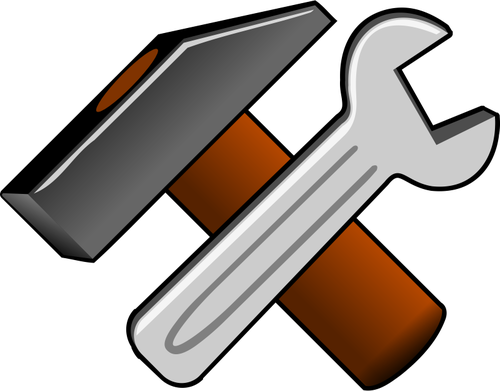 57 wrench free clipart.