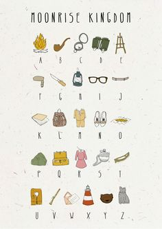 Wes Anderson Clipart.
