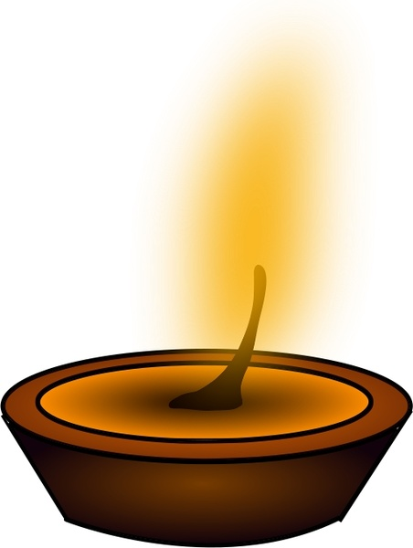 Buddhist light Free vector in Open office drawing svg ( .svg.