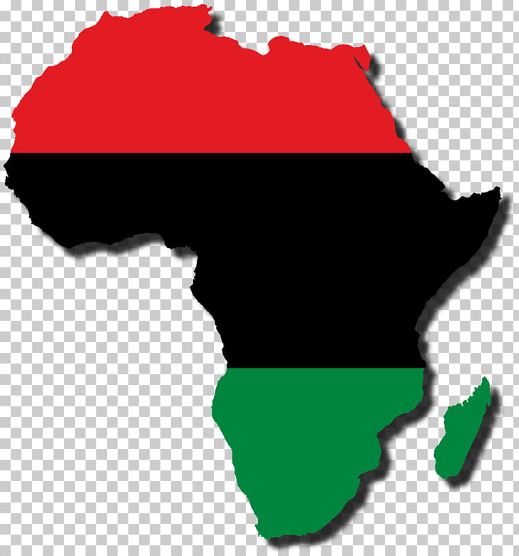 West Africa Flag of South Africa Map Pan.