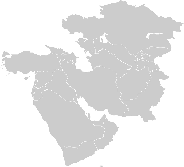 Blank Map Of Asia Quiz.