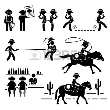 12,130 Wild West Stock Vector Illustration And Royalty Free Wild.