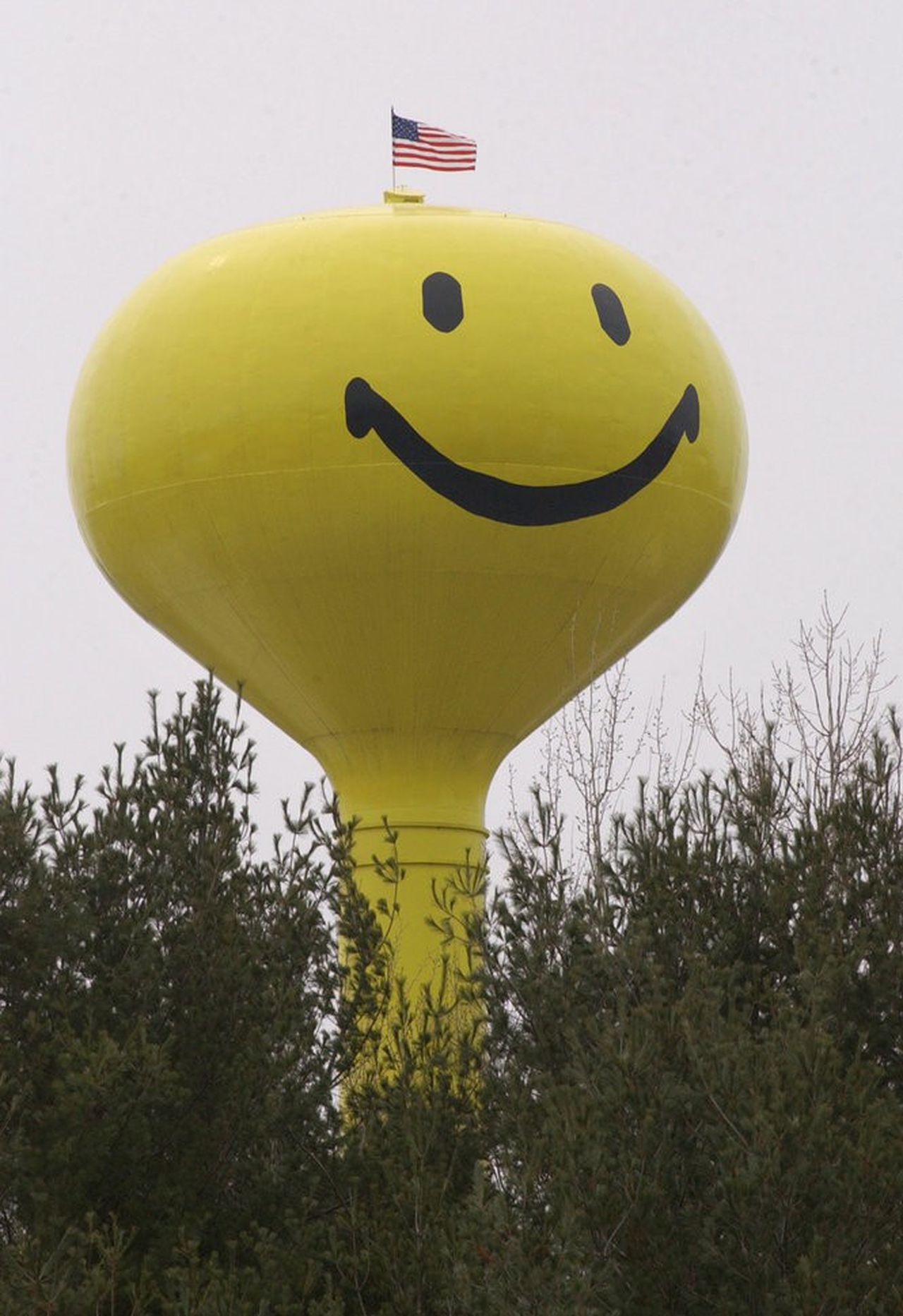 The weird, wonderful water towers of Michigan.