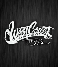west coast Customs logo.
