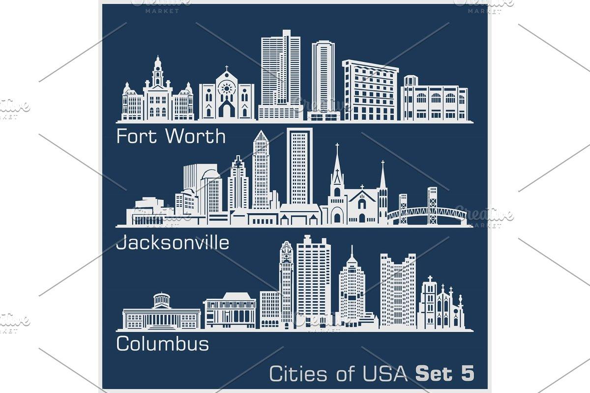 Cities of USA.