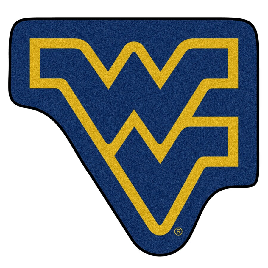 West Virginia Mountaineers 36\'\' x 21\'\' Mascot Mat.