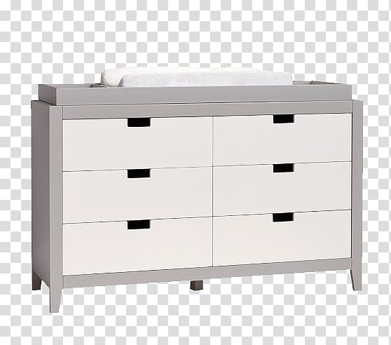 Chest of drawers Changing table Pottery Barn, West Elm.