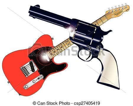 Vector Clip Art of Country and Western.