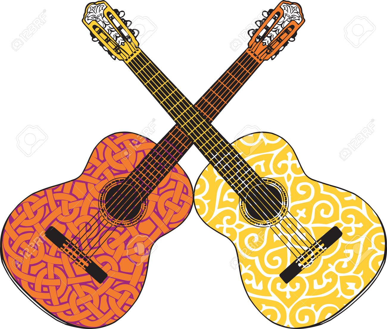 Blues Rock And Roll Stock Vector Illustration Royalty Free