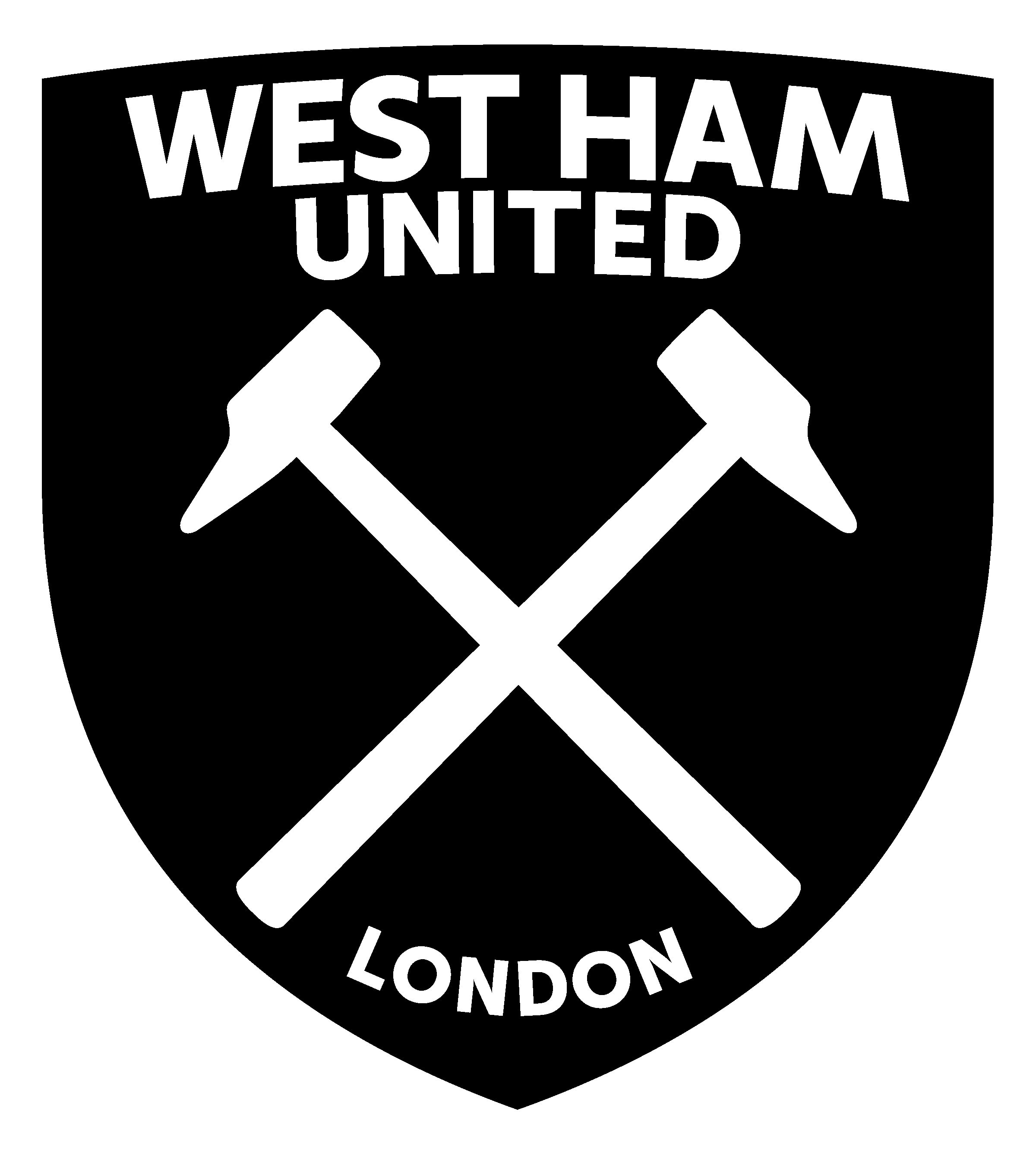 West Ham United FC Logo PNG Transparent & SVG Vector.