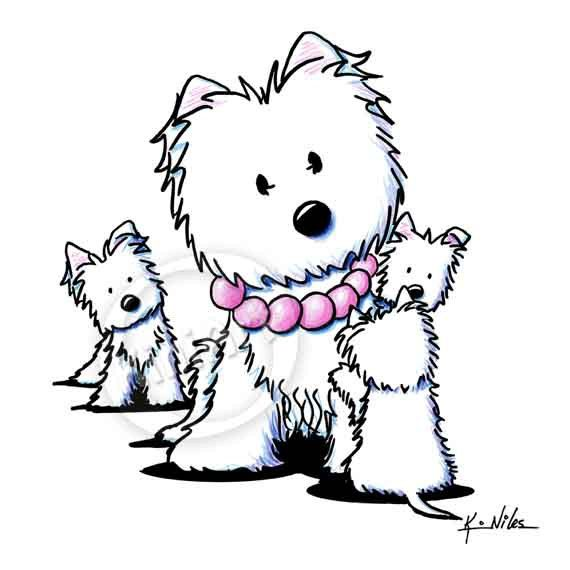 1000+ images about Westie drawings on Pinterest.