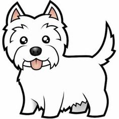 West highland terrier clip art free.