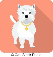West highland white terrier Clip Art and Stock Illustrations. 64.