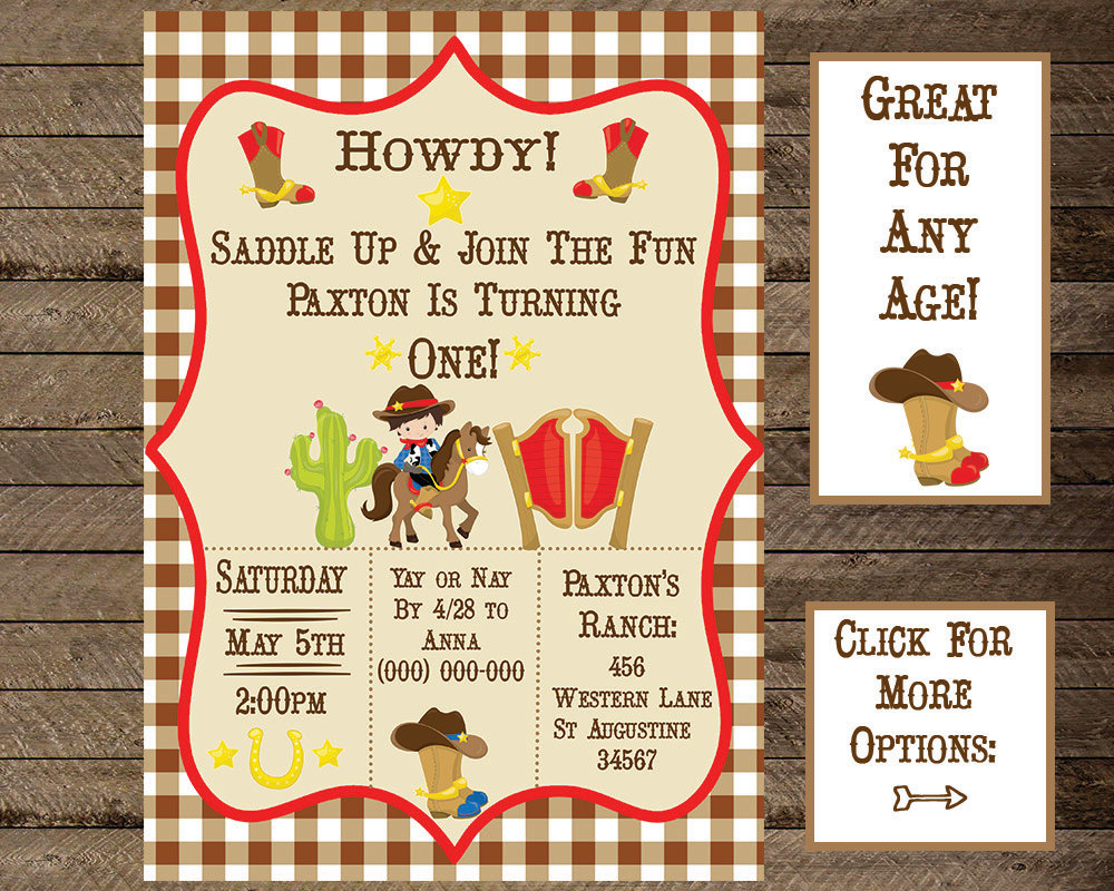 Western theme party.