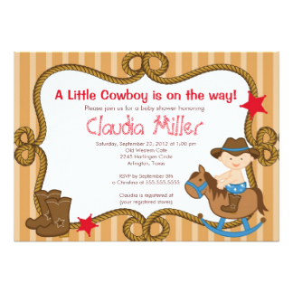 Western Invitations, 2500+ Western Announcements & Invites.