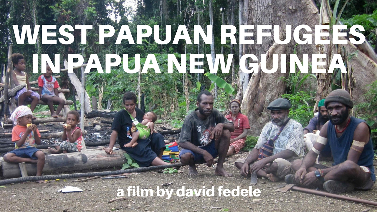 WEST PAPUAN REFUGEES IN PAPUA NEW GUINEA.
