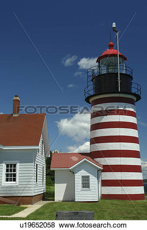 Pictures of Lubec, ME, Maine, Bay of Fundy, Quoddy Head State Park.