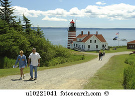 West quoddy head lighthouse Stock Photo Images. 48 west quoddy.