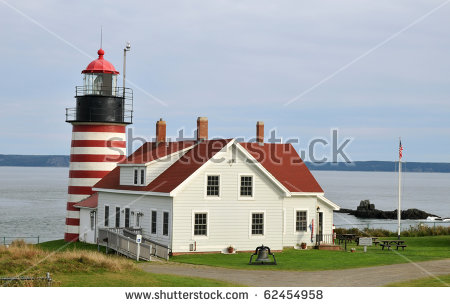 """west Quoddy Head Lighthouse"" Stock Photos, Royalty."